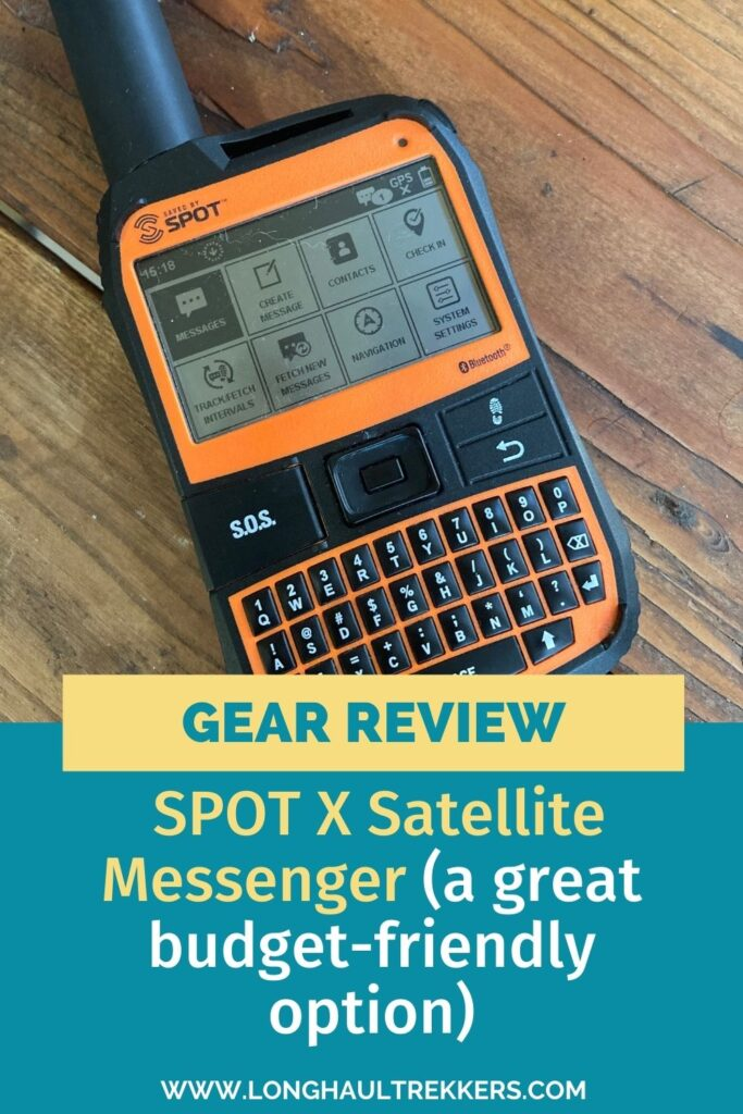 Review of SPOT X 2-Way Satellite Messenger Review