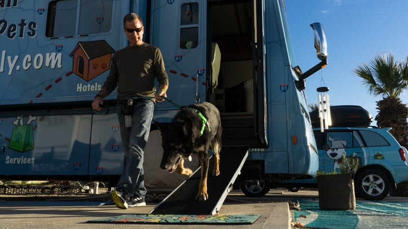 Tips for choosing and using a dog ramp for RV GoPetFriendly.com
